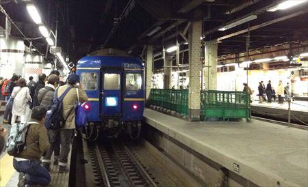 北斗星 上野駅