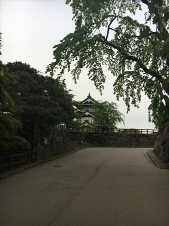 弘前公園と弘前城3